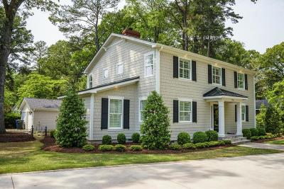Greenville Single Family Home For Sale: 1725 Circle Drive