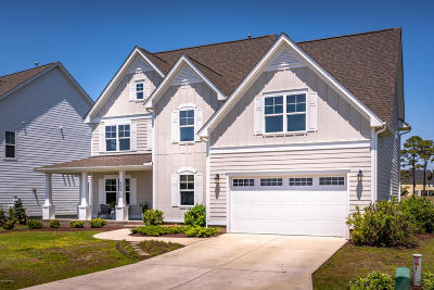 Newport Single Family Home For Sale: 509 Lanyard Drive