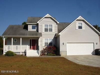 Swansboro Rental For Rent: 243 River Reach Drive