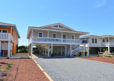 Holden Beach Single Family Home For Sale: 551 Ocean Boulevard W