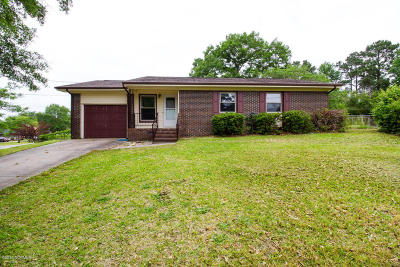 Jacksonville Single Family Home For Sale: 323 Sterling Road