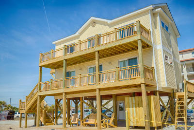 North Topsail Beach, Surf City, Topsail Beach Single Family Home For Sale: 774 New River Inlet Road