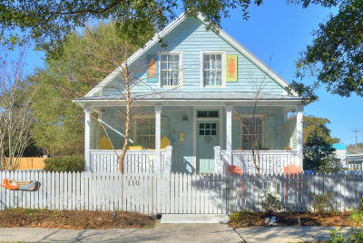 Southport Single Family Home For Sale: 110 W St George Street #George