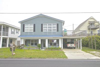 North Topsail Beach, Surf City, Topsail Beach Single Family Home For Sale: 1206 S Anderson Boulevard