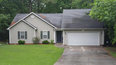 Swansboro Single Family Home Active Contingent: 104 Walnut Drive