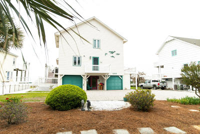 Atlantic Beach Single Family Home For Sale: 1905 E Fort Macon Road #& Bo