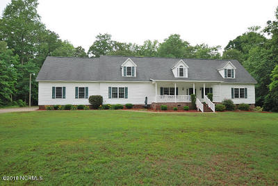 Edgecombe County Single Family Home For Sale: 29 Alston Lane