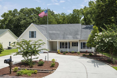 New Bern Single Family Home For Sale: 4840 Wilcox Road