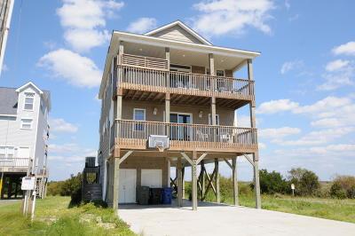 North Topsail Beach, Surf City, Topsail Beach Single Family Home For Sale: 3739 Island Drive