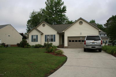 New Bern NC Single Family Home For Sale: $157,000