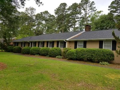 Kinston Single Family Home For Sale: 1704 Greenbriar Road