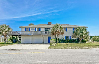 Holden Beach Single Family Home For Sale: 929 Ocean Boulevard W