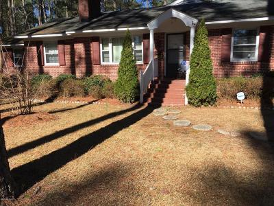 Nash County Single Family Home For Sale: 1610 Hammond Street