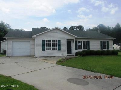 New Bern NC Single Family Home For Sale: $99,950