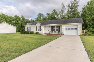 Jacksonville Single Family Home For Sale: 212 Winterberry Court