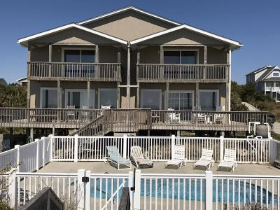 Emerald Isle Multi Family Home For Sale: 6615 Ocean Drive