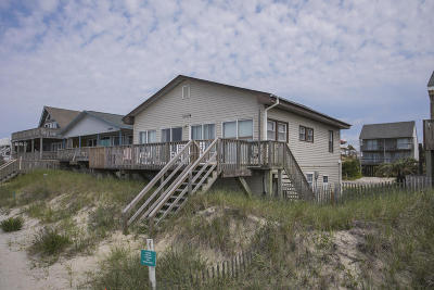 Oak Island Single Family Home For Sale: 2345 W Beach Drive