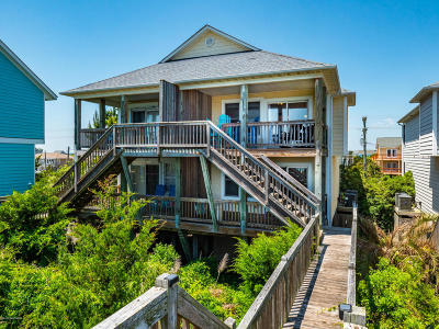 North Topsail Beach, Surf City, Topsail Beach Condo/Townhouse For Sale: 205 S Anderson Boulevard #C