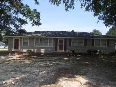 Edgecombe County Single Family Home For Sale: 1540 Bedford Road