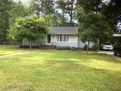 Edgecombe County Single Family Home For Sale: 826 Hilma Circle