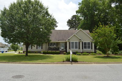 Winterville Single Family Home For Sale: 482 Lora Lane