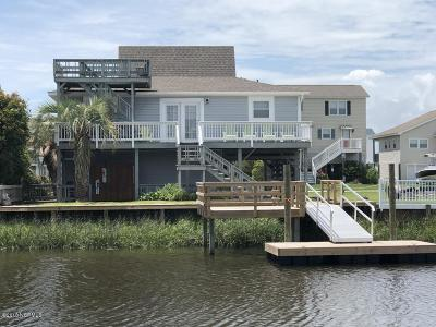 Holden Beach Single Family Home For Sale: 118 Burlington Street