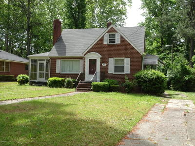 Edgecombe County Single Family Home For Sale: 911 Shepard Drive