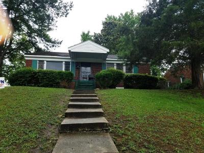 Greenville Single Family Home For Sale: 1605 W Fifth Street