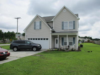 Onslow County Single Family Home For Sale: 1869 Haw Branch Road