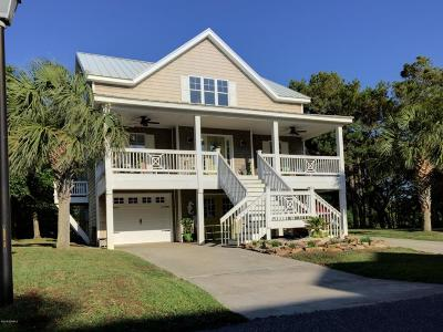 Oak Island Single Family Home Sold: 107 SE 72nd Street