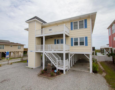 Ocean Isle Beach Condo/Townhouse For Sale: 249 W First Street #A