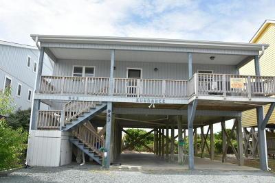 Holden Beach Single Family Home For Sale: 943 Ocean Boulevard W
