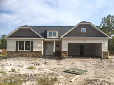 Sneads Ferry Single Family Home For Sale: 522 Saratoga Road #Lot 114