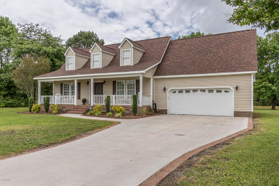 Richlands Single Family Home For Sale: 390 Futrell Road