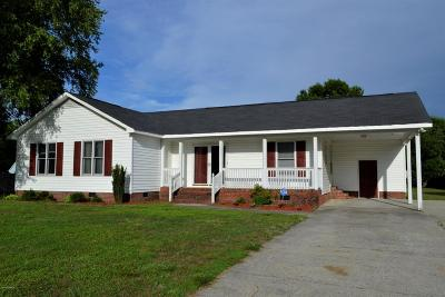 Greenville NC Single Family Home For Sale: $123,700