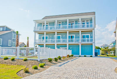 Emerald Isle Single Family Home For Sale: 1810 Ocean Drive