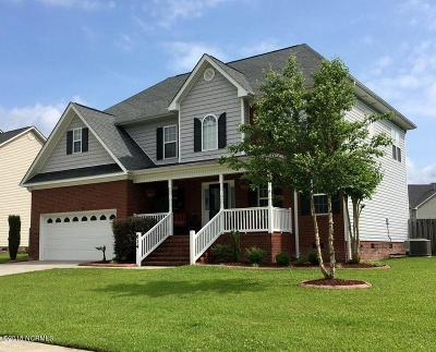 Onslow County Single Family Home For Sale: 614 Stagecoach Drive
