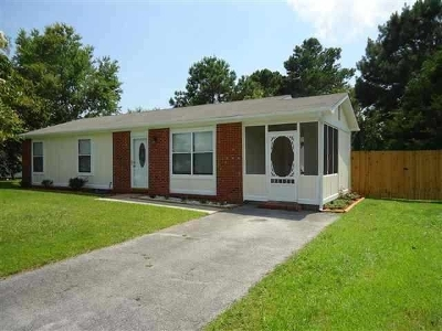 Jacksonville Rental For Rent: 108 Pecan Lane