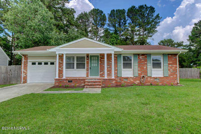 Jacksonville Single Family Home For Sale: 400 Linwood Drive