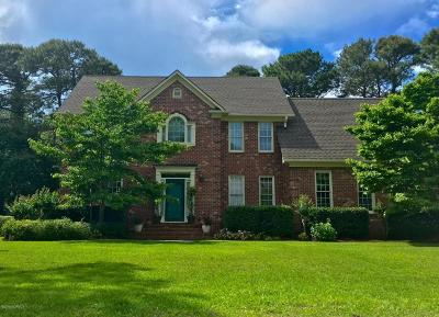 Wilmington Single Family Home For Sale: 3304 Amber Drive