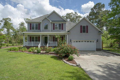 New Bern NC Single Family Home For Sale: $300,000