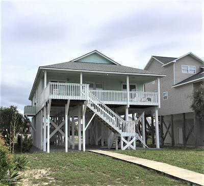 Oak Island Single Family Home For Sale: 2334 W Beach