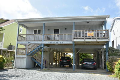 Holden Beach Single Family Home For Sale: 941 Ocean Boulevard W