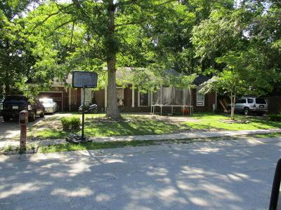 Jacksonville Single Family Home For Sale: 503 Dewitt Street