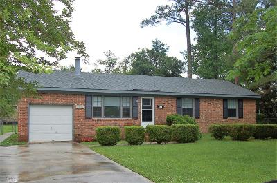 Havelock Single Family Home For Sale: 210 Shepard Street