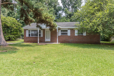 Jacksonville Single Family Home For Sale: 109 Ramsey Drive