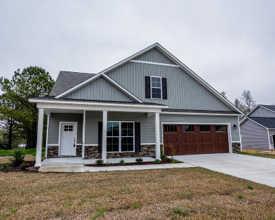 New Bern NC Single Family Home For Sale: $308,000