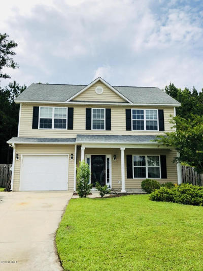 New Bern Single Family Home For Sale: 166 Crooked Run Drive