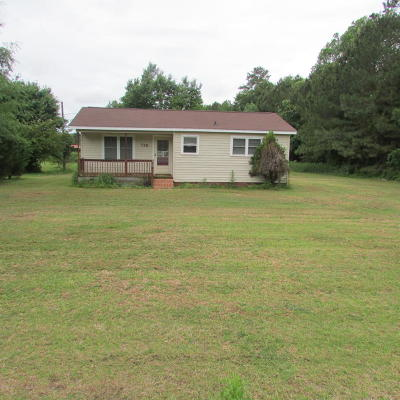 Clinton NC Single Family Home For Sale: $47,500