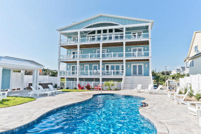 Emerald Isle NC Single Family Home For Sale: $3,199,000